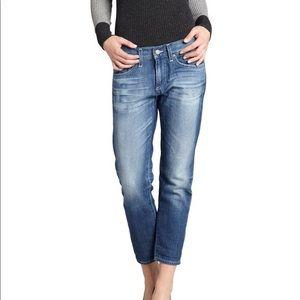 NWOT AG Piper Slouchy Slim Crop Jeans